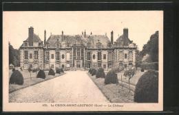 CPA La-Croix-Saint-Leufroy, Le Château - Frankreich