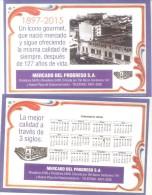 MERCADO DEL PROGRESO BARRIO DE CABALLITO BUENOS AIRES CARTE PUBLICITAIRE 127 AÑOS DEL MERCADO MARKET - Marktplaatsen