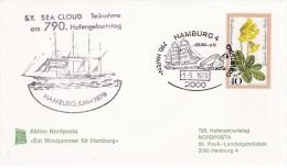 Ship: S/Y Sea Cloud - Hafen Geburtstag P/m Hamburg 1979 (G33-16) - Ships