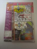 034 - MOBICLIC N° 40 -- FABRIQUE TA BD + N° 34 -- FABULEUX TOUR DU MONDE -- NEUFS - CD
