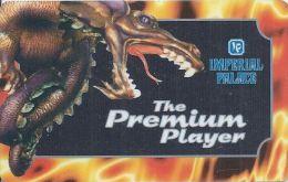 Very Rare Imperial Palace Casino Premium Player Slot Card - Casino Cards