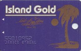 Isle Of Capri Casino Bolixi MS 1st Issue Slot Card - Casino Cards