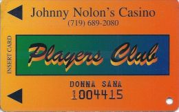 Johnny Nolon´s Casino Cripple Creek CO - 2nd Issue Slot Card - Casino Cards