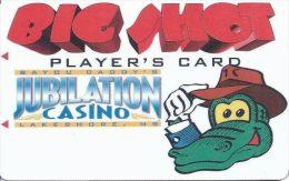 Bayou Caddy´s Jubilation Casino Lakeshore, MS - 1st Issue Big Shots Slot Card (Blank) - Casino Cards