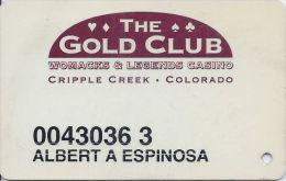 Womacks Casino Cripple Creek CO - 7th Issue Slot Card - Casino Cards