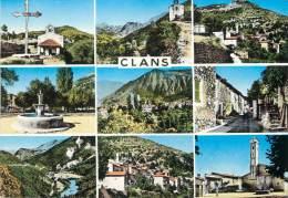 """/ CPSM FRANCE 06 """"Souvenir De Clans"""" - Autres Communes"""