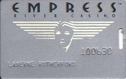 Empress Casino Joliet IL 2nd Issue Slot Card - Casino Cards