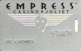 Empress Casino Joliet IL 3rd Issue Slot Card - Casino Cards