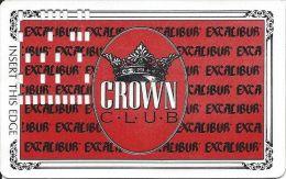 Excalibur Casino Las Vegas 2nd Issue Slot Card - Casino Cards