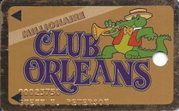 Orleans Casino Las Vegas 2nd Issue Slot Card With Embossed Player Info   ...[RSC]... - Casino Cards
