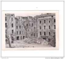Photo ( 90 X 65 M/m)de Sisteron Après Le Bombardement - Sisteron