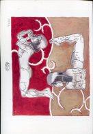 Magnifique  Serigraphie  Ex Libris  21x30   Cm Signe  Matrix - Screen Printing & Direct Lithography