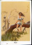 Magnifique  Serigraphie  Ex Libris  21x30   Cm Signe  Naits - Screen Printing & Direct Lithography