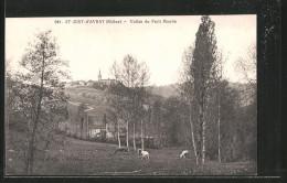 CPA Saint-Just-d'Avray, Vallée Du Petit-Moulin - Sin Clasificación