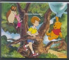 Mzr508 WALT DISNEY WINNIE THE POOH UIL BEER VARKEN OWL PIG BEAR GRENADA GRENADINES 1997 PF/MNH - Disney