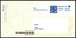 Bund / Germany: Stempel 'THPS - Thüringer Postservice, 2014' / Cancel 'Thuringia Postal Service', [99090 Erfurt] - Privados & Locales