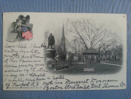 CP Carte Postale Postcard USA Newport Touro Park (1) - Newport