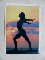 Small Calendar From Azerbaijan Baku 1991 Woman Erotic - Kalender