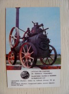 Calendar From Latvia 1985 Fire Transport - Kalender