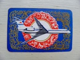 Calendar From USSR 1975 Aeroflot Soviet Airlines Plane Airplane - Kleinformat : 1971-80