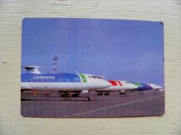 Calendar From Latvia 1995 Plane Airplane - Kalender