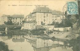 (90) BELFORT : Pont Sur La Savoureuse - Rue Denfert-Rochereau - Belfort - Ville