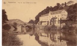 ANSEREMME PONT ST JEAN ET HOTEL DE LA LESSE - Dinant