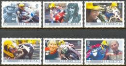 ISLE OF MAN 2001 MOTORCYCLE RACES** (MNH) - Motorfietsen