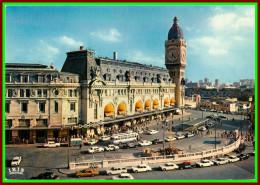 Théme Chemins De Fer Sncf    ( Voir Scan Recto Et Verso ) Paris Gare De Lyon - Stations Without Trains