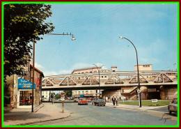 Théme Chemins De Fer Sncf    ( Voir Scan Recto Et Verso ) Reuil Malmaison Avenue Albert 1er Et La Gare - Stazioni Senza Treni