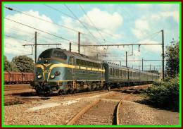 Théme Chemins De Fer Sncf    ( Voir Scan Recto Et Verso )  La Cc 5403 à Gembloux  Ligne Bruxelles - Namur - Trains