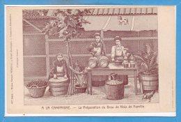 24 - EYMET --  A La Campagne - Préparation Du Brou De Noix De Famille - Autres Communes