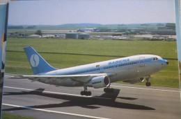 AIRLINES ISSUE / CARTE COMPAGNIE          SABENA    A 310 - 1946-....: Modern Era