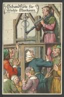 DEUTSCHLAND: Mittelalterlichen Folter: Schandflöte Für Fchlecte Musikanten - Tortura Medioevale: Il Flauto D. Vergogna - Prigione E Prigionieri