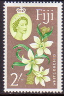 FIJI 1962 SG #319 2sh MLH White Orchid - Fidji (...-1970)