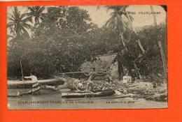 Colonies Françaises - Etablissements Français De L'Océanie - La Pêche à La Pâtia - Postcards