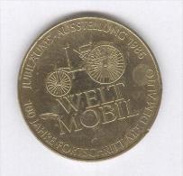 Médaille Welt Mobil - Daimler Beinz - 1986 - Allemagne