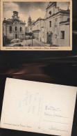 2266) BARI GRAVINA DI PUGLIA LA BIBLIOTECA FINIA E CHIESA DEL PURGATORIO NON VIAGGIATA DATATA 1952 - Bari