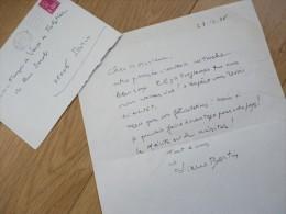 Pierre BERTIN (1891-1984) COMEDIE Française. Mari Marcelle MEYER. AUTOGRAPHE - Autographes