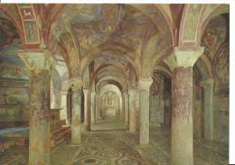 Anagni (Frosinone, Lazio) Cattedrale: Cripta Volte E Affreschi, Cathedral: Crypt, Vaults, Frescoes And Cosmatan Floor - Frosinone