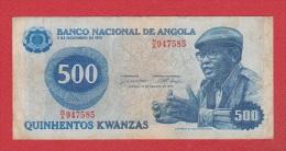 Angola  //  500 Kwanzas 14-08-79  // - Angola