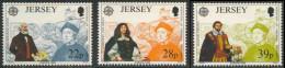 Jersey 1992 Mi 574 /6 ** 500th Ann. Discovery Of America By Columbus / Entdeckung Amerika - Christoffel Columbus