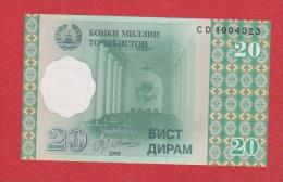 Tadjikistan //  20 Diram  //  2000  //  NEUF - Tajikistan