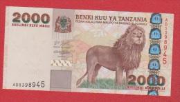 Tanzanie //  2000 Shilingi  //  NEUF - Tanzanie