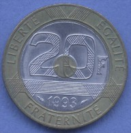 20  FRANCS 1993 MONT ST MICHEL  Tb/TTB - France