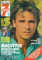Télé 7 Jours N° 1640 - Semaine Du 2 Au 8 Nov 1991 - MacGyver, Jean Ferrat, Patrick Juvet, Brigitte Nielsen, J. Dutronc - 1950 - Nu