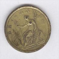 1 Penny Grande Bretagne / U.K. 1807 Georges III - 1662-1816 : Anciennes Frappes Fin XVII° - Début XIX° S.
