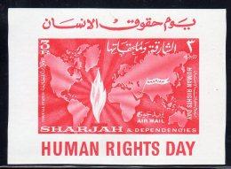 SHARJAH - BL N°6 **  HUMAN RIGHTS DAY (1964) - Schardscha