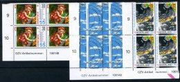 NEDERLAND 1444/1446 MNH** 1990 - Zomerzegels, Het Weer (4 Stuks) - 1980-... (Beatrix)