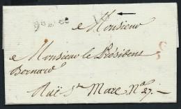 FRANCE - Lettre  ( Avec Texte) De La Petite Poste De Paris -  Le 15 Février - Lot P12266 - Storia Postale